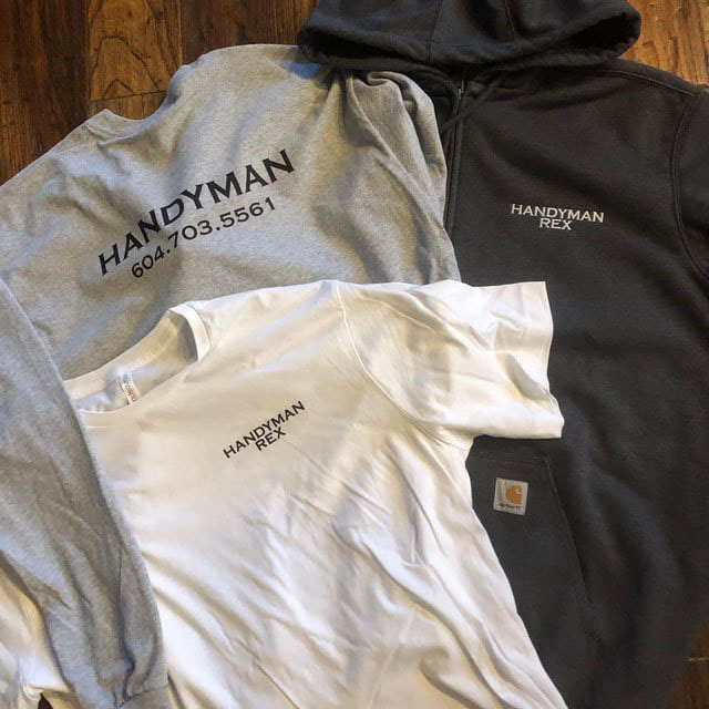 Custom Embroidered Shirts & Sweaters