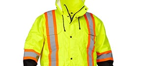 Men's High Visiblity Rain Gear
